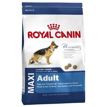 Royal Canin Maxi Adult Dry Dog Food For Pets