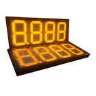 Gas Station 4 Digits Led Display Board Digital Gas Price Sign Numbers