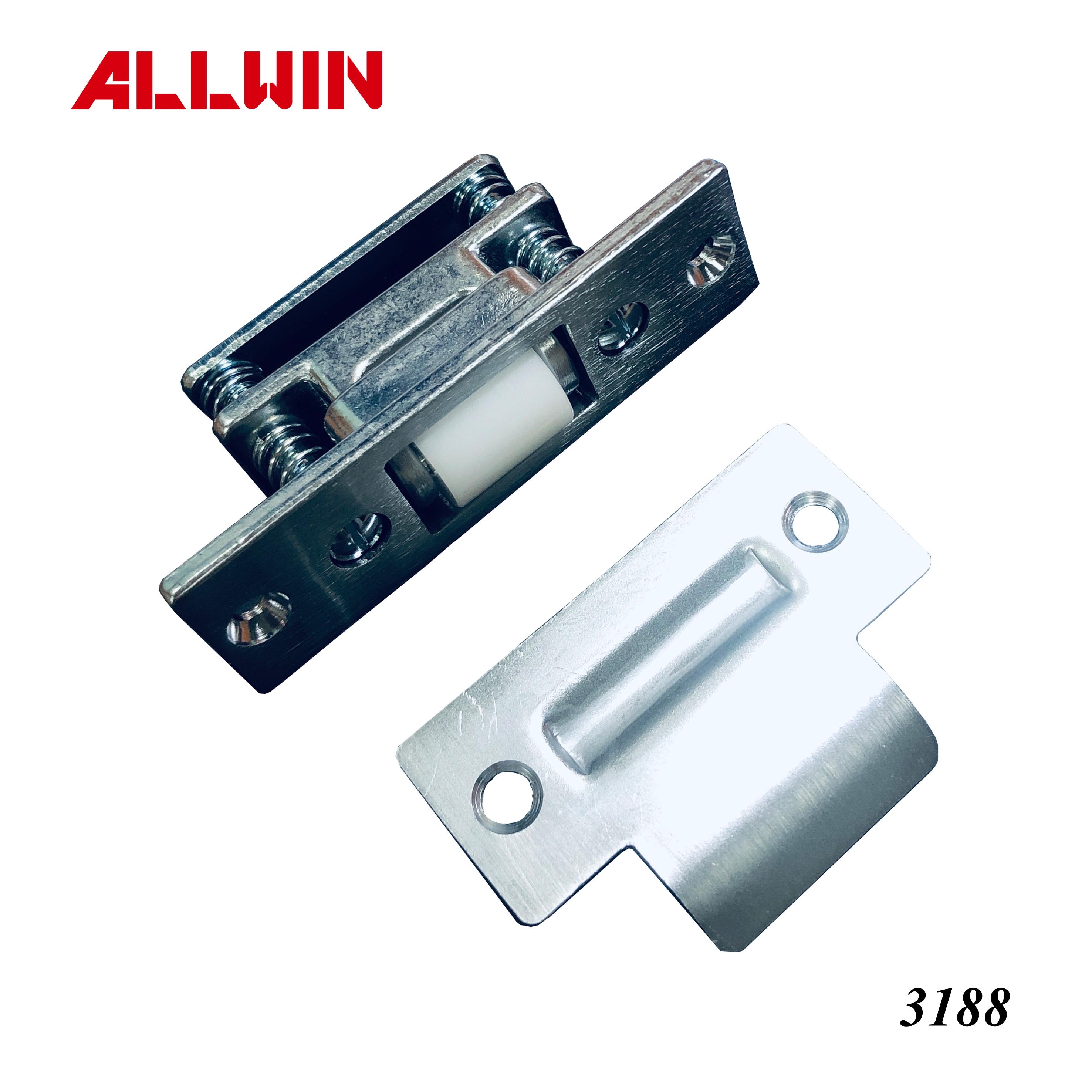 Stainless Steel Color Brass Roller Latch for Door
