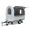 Australia standard outdoor mobile fast food carts kiosk, popsicle ice cream vending carts for sale
