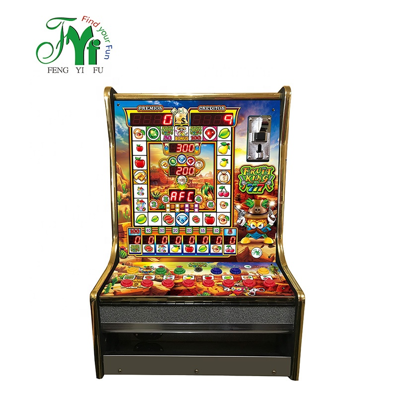 Fruit Koning 777 Mario Slot Game Machine Kits Muntautomaat Game Machine
