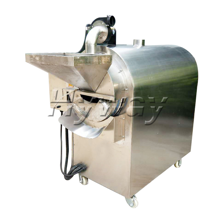 50kg/batch dry nut roaster sesame seed roaster ground nut roaster