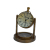 Table Decoration Antique Mini Clock With Compass Design