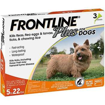 Frontline Plus Flea and Tick Treatment for Small Dogs
