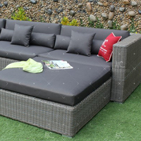 2018 Flexible Sectional Patio Garden Sofa Set Wicker Furniture