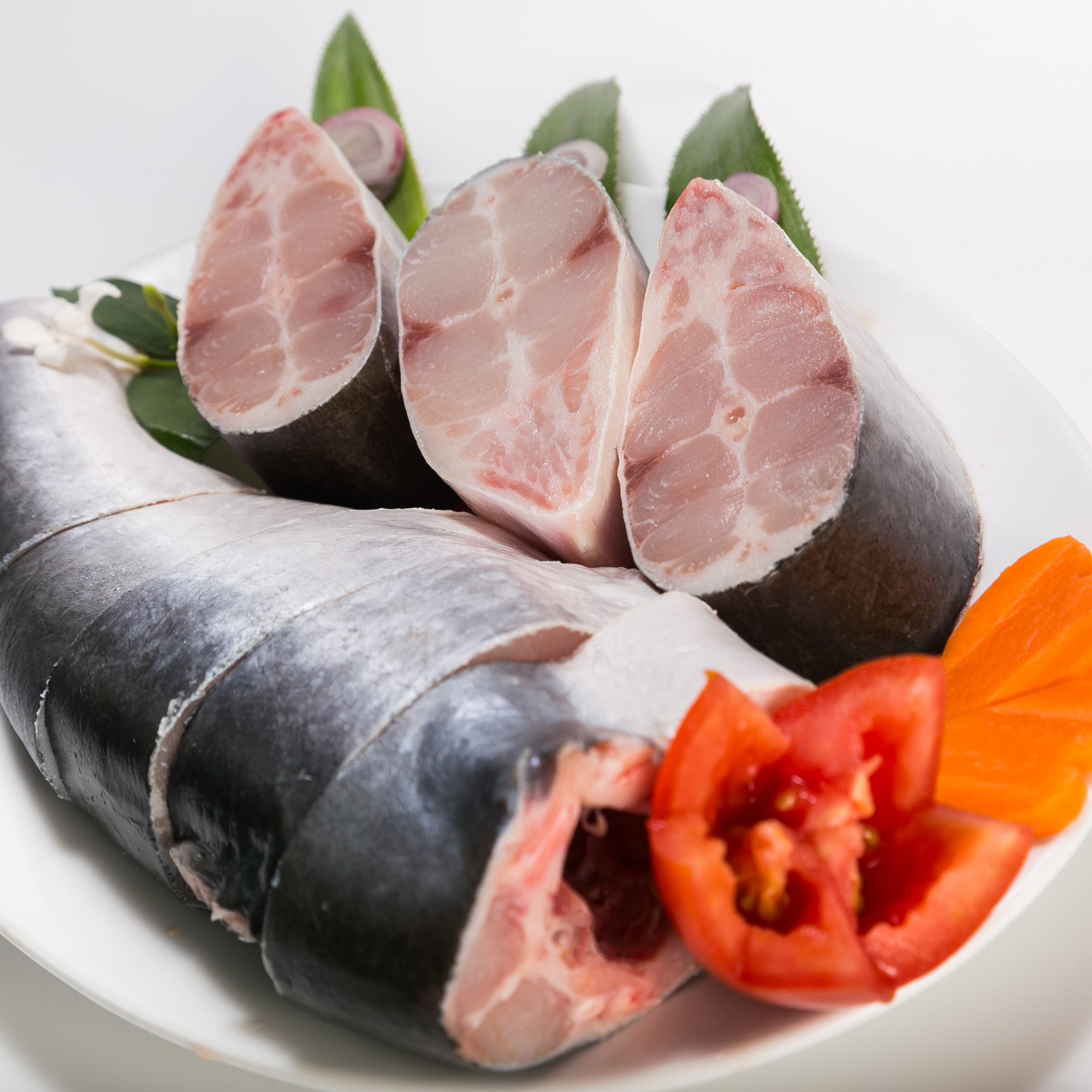 High Quality Grade Nature Feature Pangasius Steak tail on With Body Part Frozen Style From Vietnam