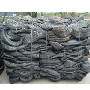 Odorless Tire Recycled Rubber / Reclaimed Rubber From Scrap Tires