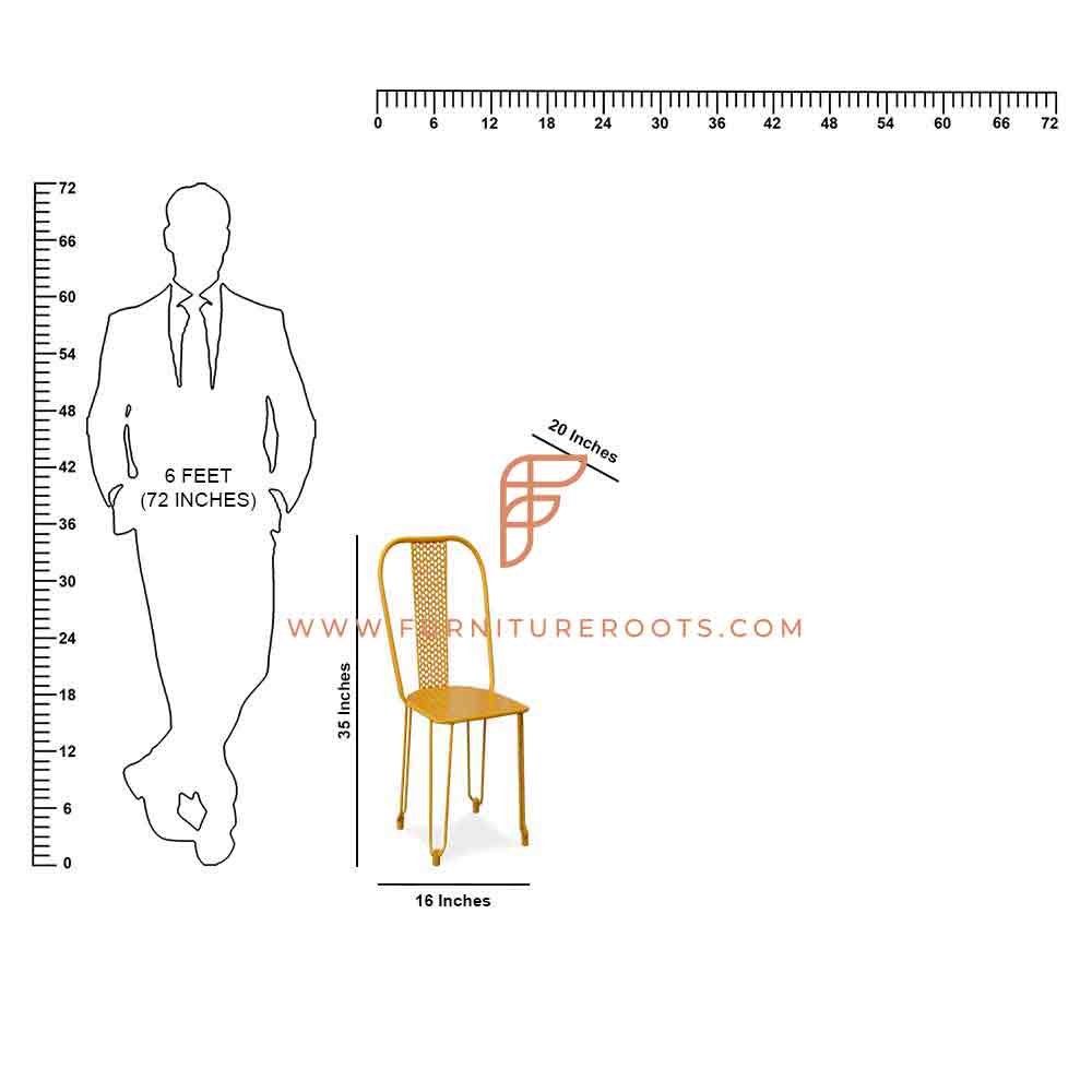 Bistro Outdoor Weather Resistant Chairs Mid-Century Side Chair with Wooden Walnut Legs for Kitchen, Living Room and Dining Room