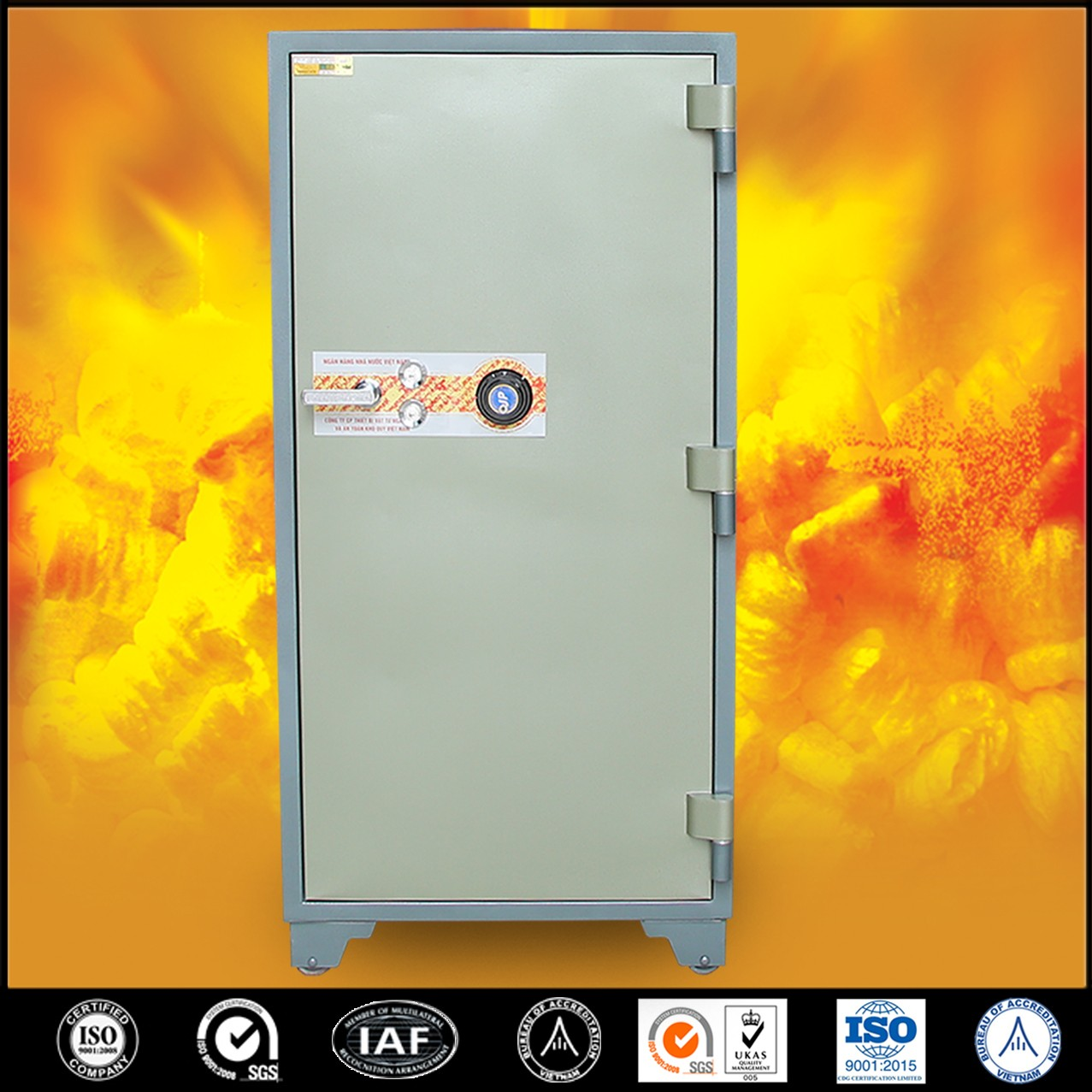 Bank Safes LX1900 DK Strong-High Quality Bank Fire Resistant Safe Box