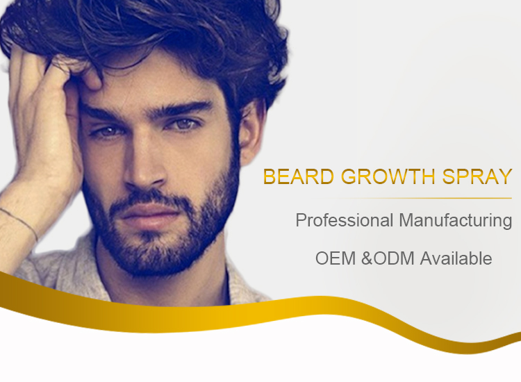 Men Beard Glow Stimulator Fast Nutrition Growth Spray
