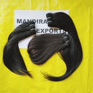 Raw no chemical processed hair From Mandira Exports hair India