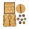 stone Seven Chakra Grid and Box Set chakra gift box set
