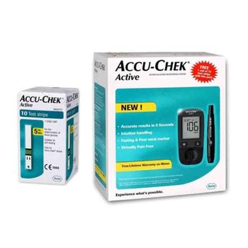 Accu Chek Active Diabetic Test Strips