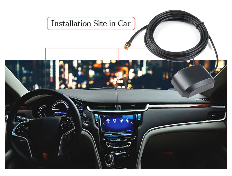 1575.42mhz frequency gps glonass bluetooth gps external fakra sma bnc mmcx connector for ford car gps antenna