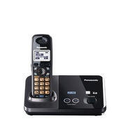 KX-TG9321 Panasonic DECT 6.0 2-Line Cordless Phone 1.4 inch Blacklit LCD office use home use hotel use