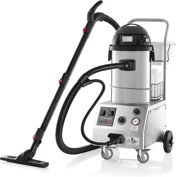BEST SALES FOR ORIGINAL Tandem Pro 2000CV Commercial Steam and Wet and Dry Vacuum Cleaners and Steamers for Hardwood Floor, Couc
