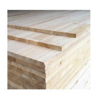 1220*2440*18mm Acacia/ Pine/rubber finger joint wood board good price