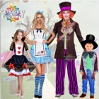 Adult and Children's Fairy Tale carnival costumes and cosplay. Alice, Mad Hatter, Mermaid, Snow White, Dorothy & more