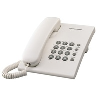 Panasonic KX-TS500 single line telephone work with PABX corded phone Wall mountable hotel use commerical