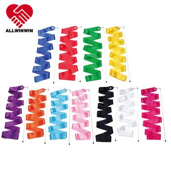 Rhythmic Gymnastics Ribbon - Tricolor 4/5/6m Dance Gymnast