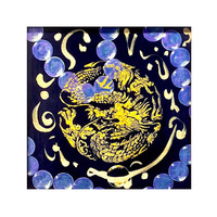 Customize Machine Made Tapestry Wall Tapestry - Chinese Dragon Pattern