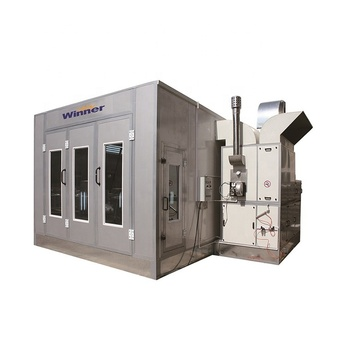 WINNER Durable Auto Painting Oven Used Car Paint Spray Booth for Sale