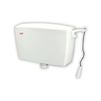 High Quality TECHPLAS High Level Lever Arm Toilet Plastic Cistern Tank