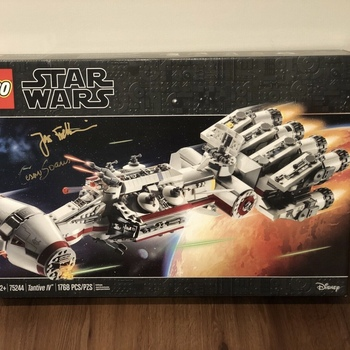 ORIGINAL Brand New Set 75244 Tantive - IV (1768 Pieces)
