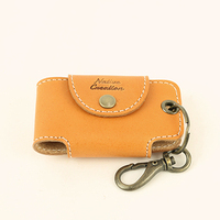 [ Native Creation ] Tochigi Leather key chains 8 colors Beige