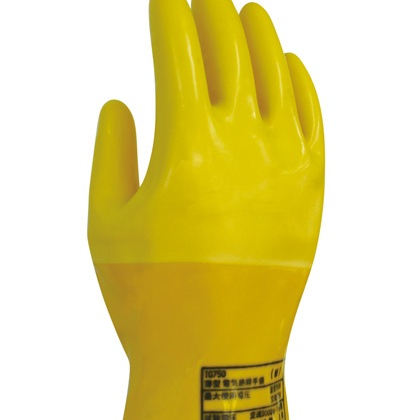 Thin electrical insulation gloves