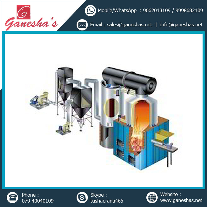 290 Graden Thermic Fluid Heater