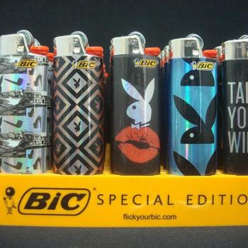 J25 Bic Lighters