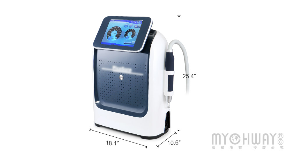 Picosecond q switched nd yag laser skin care machine for tattoo removal laser yag tatoo removal