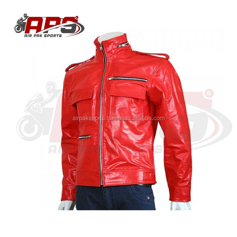 Mens Premium Cowhide Leather Pants Skin Fit Slim Fit Biker Style Fashion Pants