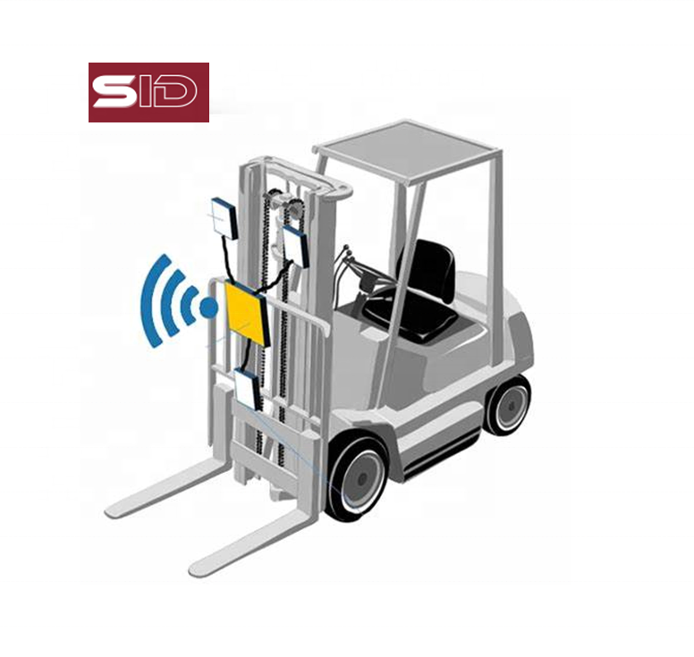 Warehouse Pallets tracking in real time by RFID