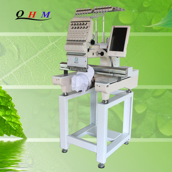 High Speed Domestic 1 One Single Head Cap And T-shirt Embroidery Machine For Sale Prices