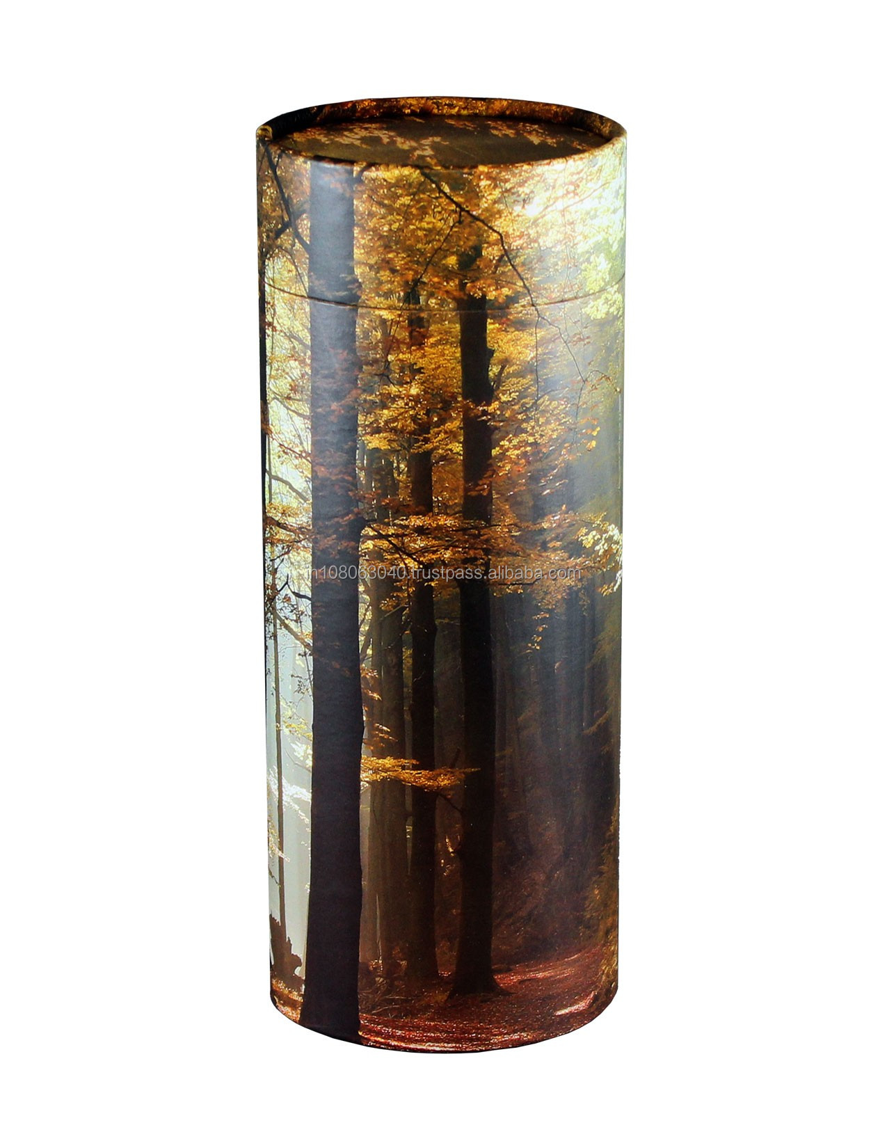 Scattering tube urn Biodegradable Urns Memorable flower