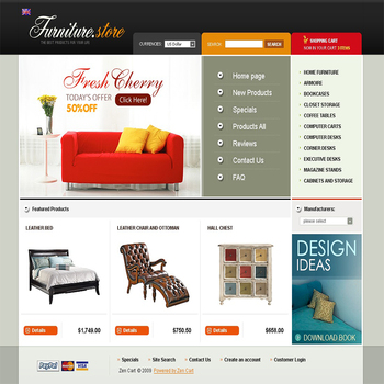 Shopping Cart Website Design for Online Store | eCommerce Web Development Services Company in India