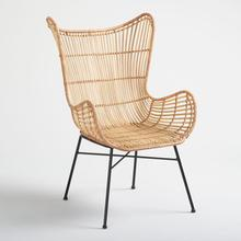 Handwoven Chic <span class=keywords><strong>Rattan</strong></span> Açık <span class=keywords><strong>Sandalye</strong></span>/Toptan doğal <span class=keywords><strong>rattan</strong></span> <span class=keywords><strong>sandalye</strong></span> ev mobilyaları
