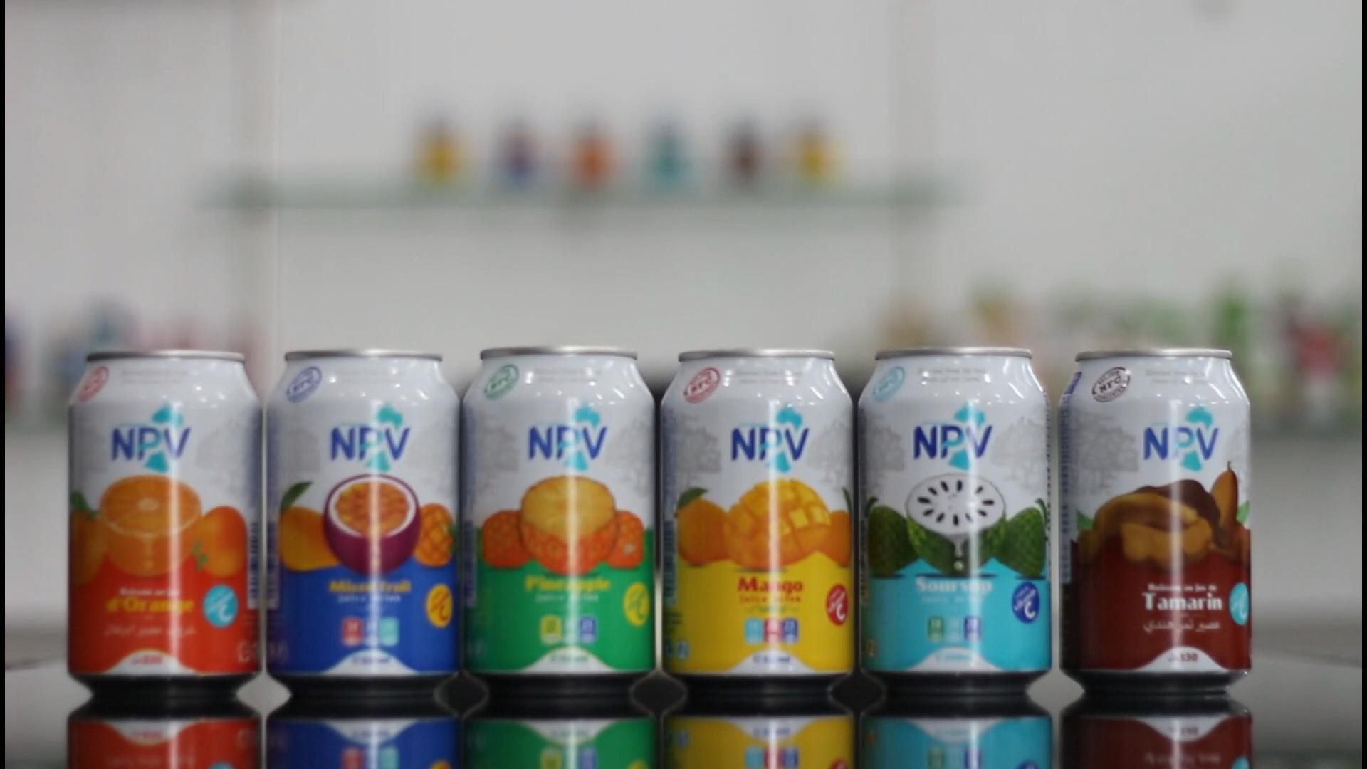 Manufacturer NPV Beverage Free Design 330ml Canned Mix Fruit Juice Drink