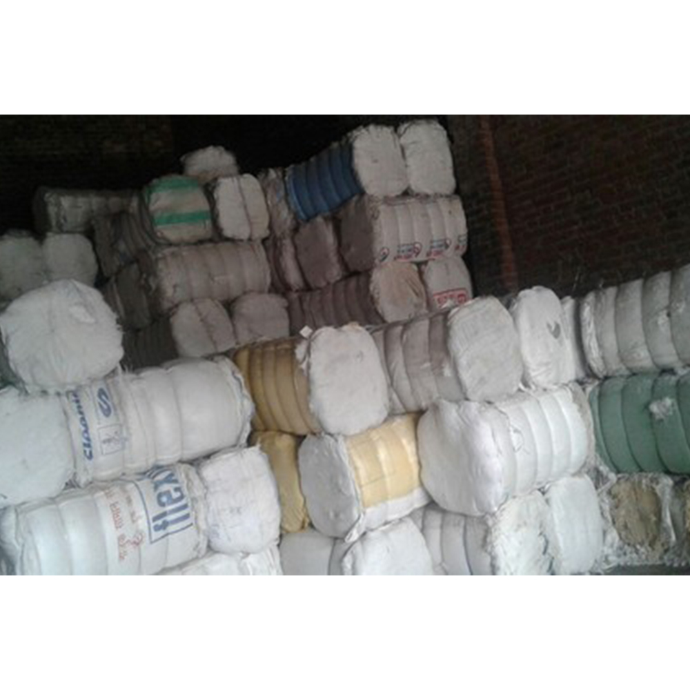 Cotton Hosiery Clips wiper rags in bales textile waste