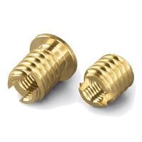 Brass Self Tapping Threaded Inserts Nut