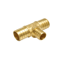 Brass Tee for Pex Pipe Fitting