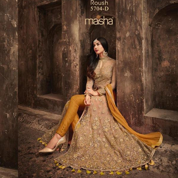 Anarkali suits dresses / Pakistani Style salwar kameez / Semi stitched Anarkali suits for Women