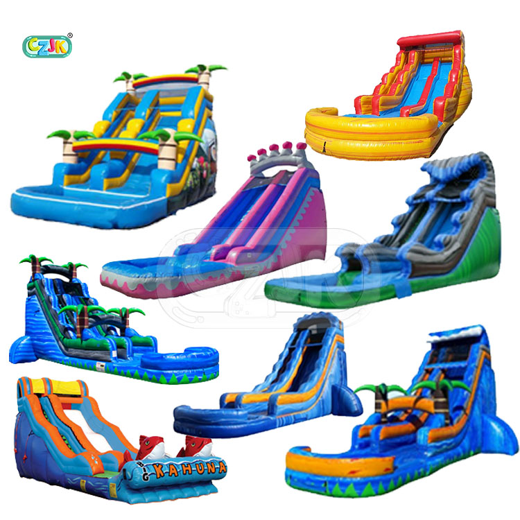 child air clearance wet dry blow up bouncer kid large pool big waterslide commercial china cheap inflatable water slide for sale