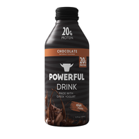 Powerful High Protein Greek Yogurt & Meal Replacement Drink - Chocolate Flavor