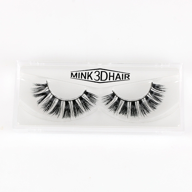 Wholesale Custom Package Private Label Faux 3d Mink Eyelashes