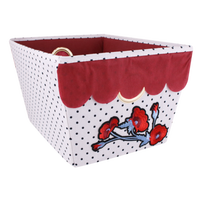 Fabric Collapsible Storage Bins, Made in Vietnam