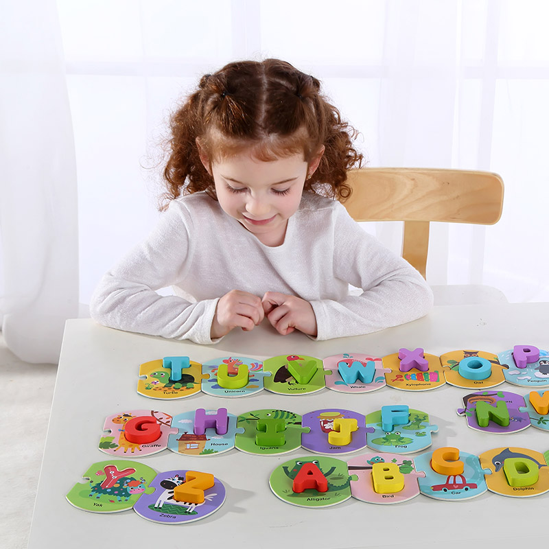 New Interesting Alphabet Puzzle Learning Gift Set