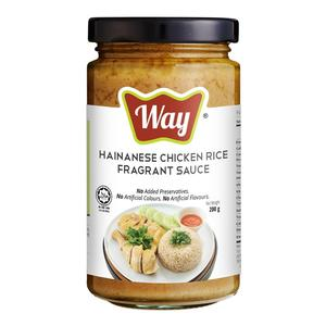High Quality Malaysia Made Hainan Chicken Rice Fragrant Sauce